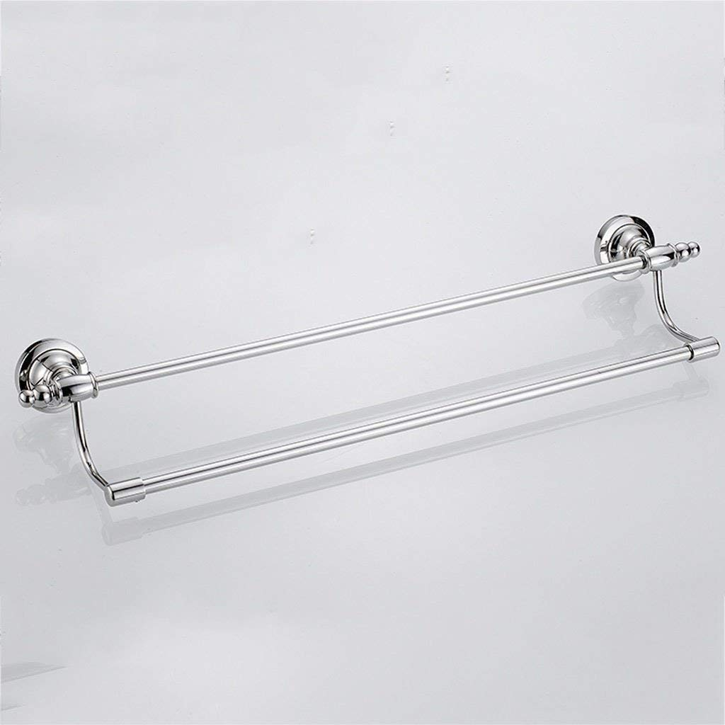 EQEQ Bath Rooms 304 Stainless Steel Double Shelf Towel Rack Bath Towel Rack Bath Rooms Bath Rooms Rooms Rooms Rooms Bath Accessories Bath Towel Rack Bathroom Towel Storage Rack