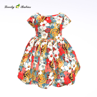 Beauty Princess One Piece Baby Girl Flower Dress Girl Party Dress Birthday Kids Children SleevelessDress Sleeveless