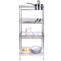 Stainless steel wire mesh shelves, plastic coated wire shelving
