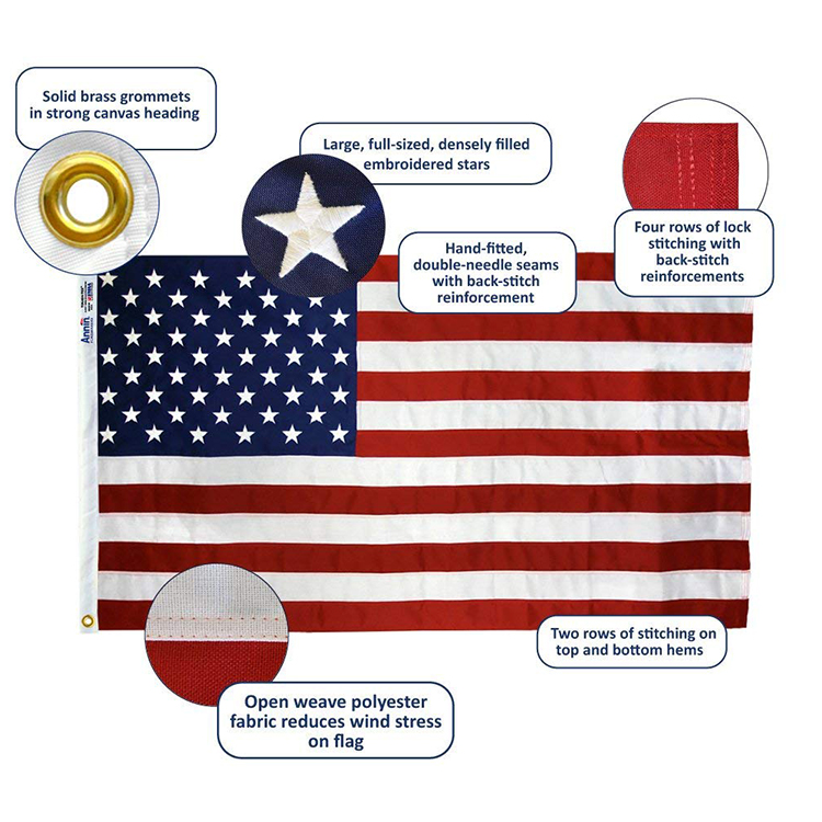 3x5 ft cheap custom flag full color printed 100% polyester wholesale all country flag National flags