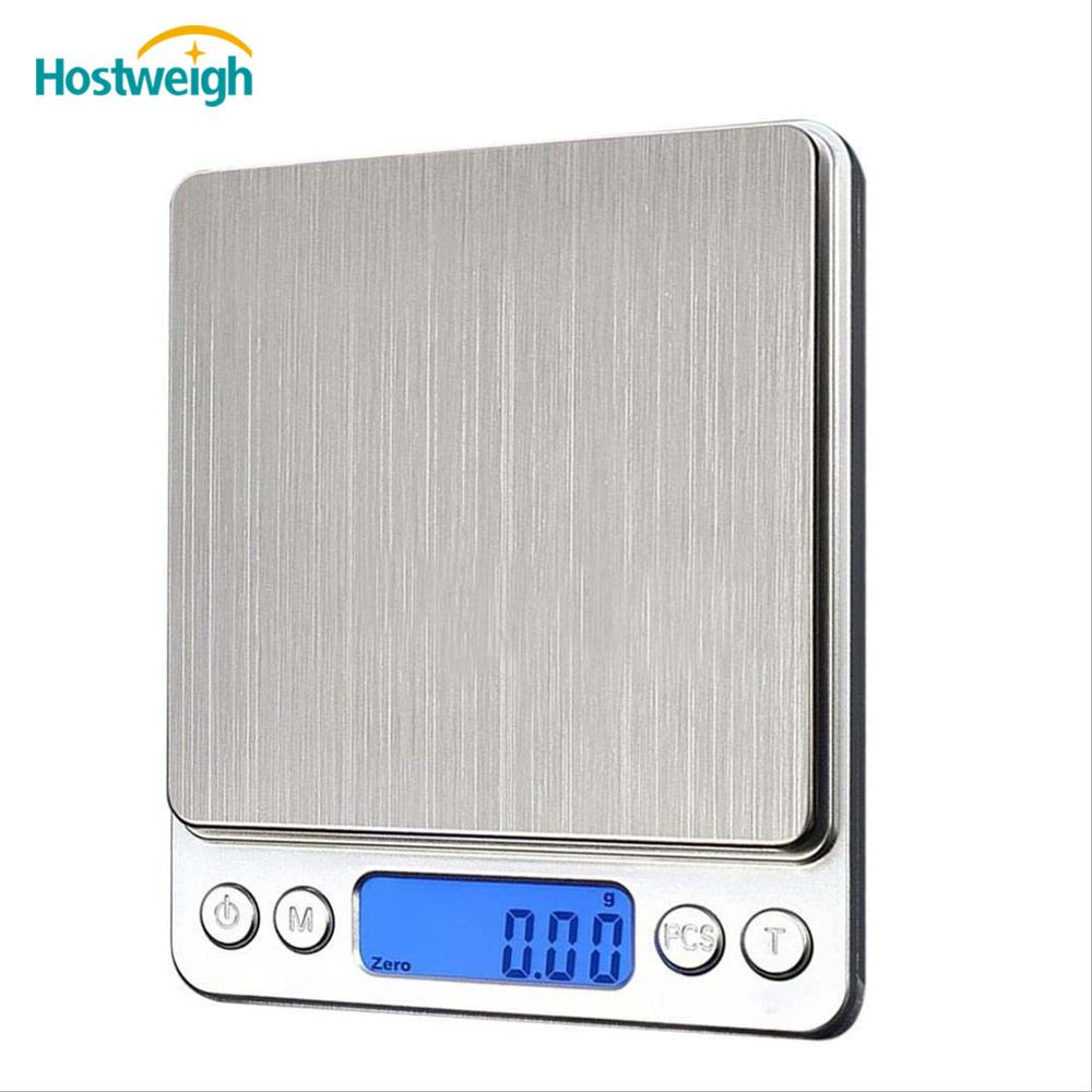 500g 0.001g Mini Digital Electronic Jewelry Diamond Weighing Scales