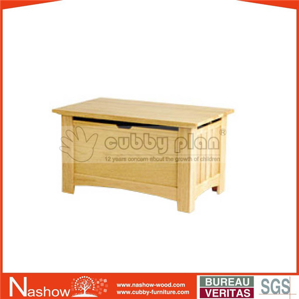 kids cheap solid wood storage chest