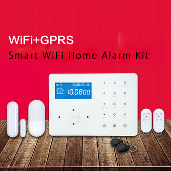 2017 Best Selling Diy Wifi Home Alarm Monitoring System Kit View
