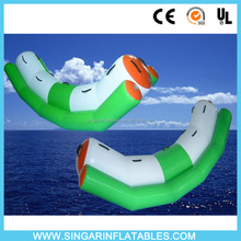 Super Fun Swimming pool toys floating totter infatable for family home use