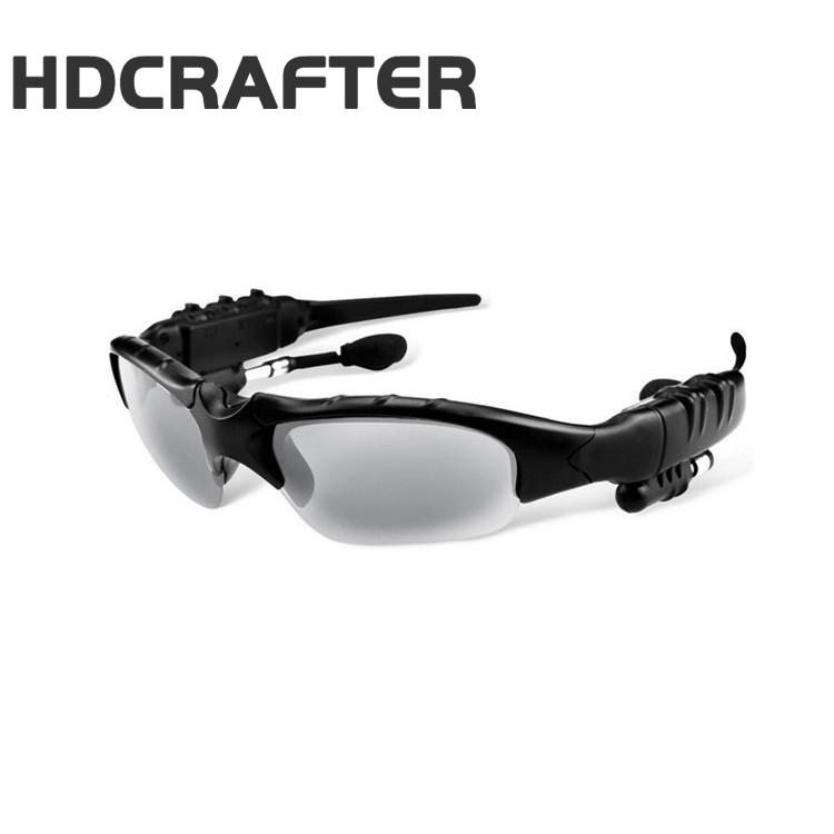 HDCRAFTER 2017 óculos de sol Do Bluetooth fone de ouvido 4.1 Fones de Ouvido  Música fone 863ecdd4c7