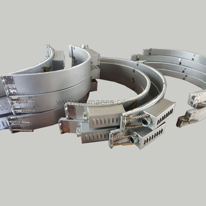 High efficiency ceramic band heaters for autoclaves
