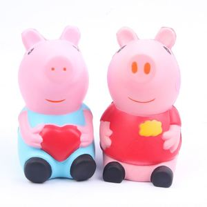 Japan Squishy Super Pink Cartoon Pig Squishies Soft Slow Rising Pu Stress Squishies Toys