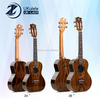 China factory high quality Full nabi wood concert ukulele (UK-LA09-24)
