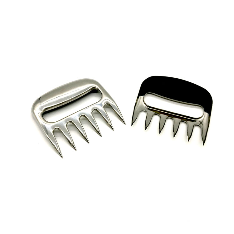 New Stainless Steel Barbecue Meat Forks for BBQ Bear Shredder Meat Claws