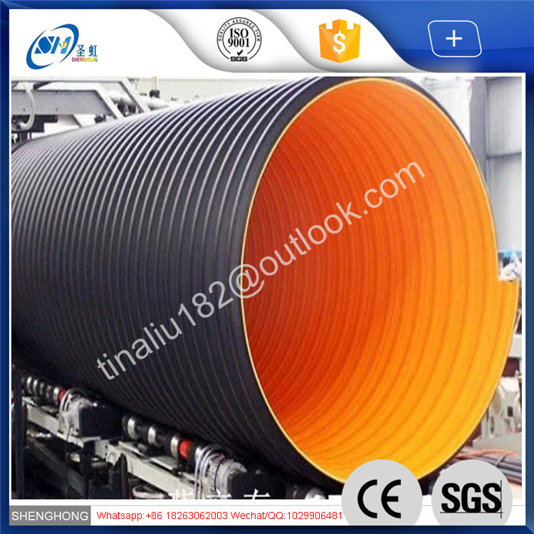 hdpe double wall corrugated drainage pipe hdpe double wall corrugated drainage pipe suppliers and at alibabacom