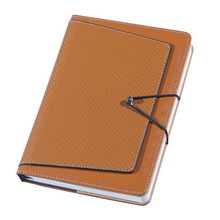 High quality a5 leather cover note books