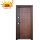 Metal front door with good quality door lock SC-S049