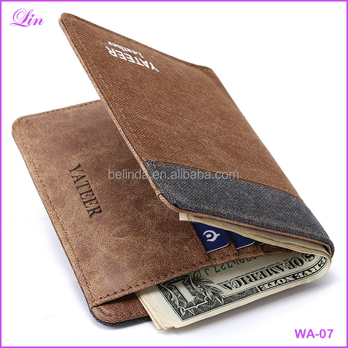Free Shipping by DHL/FEDEX/SF Fashion Men's <strong>Wallets</strong> Denim Canvas small <strong>Wallet</strong>