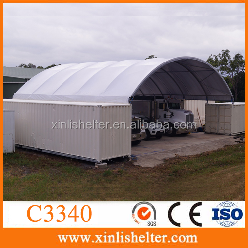 Portable Barn Plant Lorry Wagon Workshop Shelter Container Cover Canopy Roof & lorry canopy shelter-Source quality lorry canopy shelter from ...