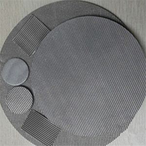 1 3 5 10 Micron Sintered Stainless Steel Filter Disc