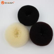 3 Cores Acessórios Para o Cabelo Das Mulheres Novas Meninas Cabelo Donut Bun Anel Shaper Styler Criador Brown Preto Bege Selecionável