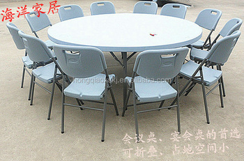 Elegant Restaurant Use Big Round Table For 10 Person/hotel Events Use Cater Table /water