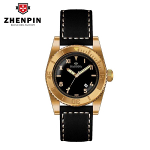 various type men bronze dress watch