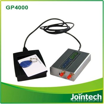 GPS tracker with RFID and camera
