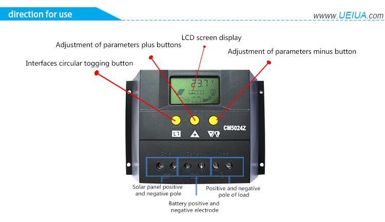 regulateur cm5024z user manual