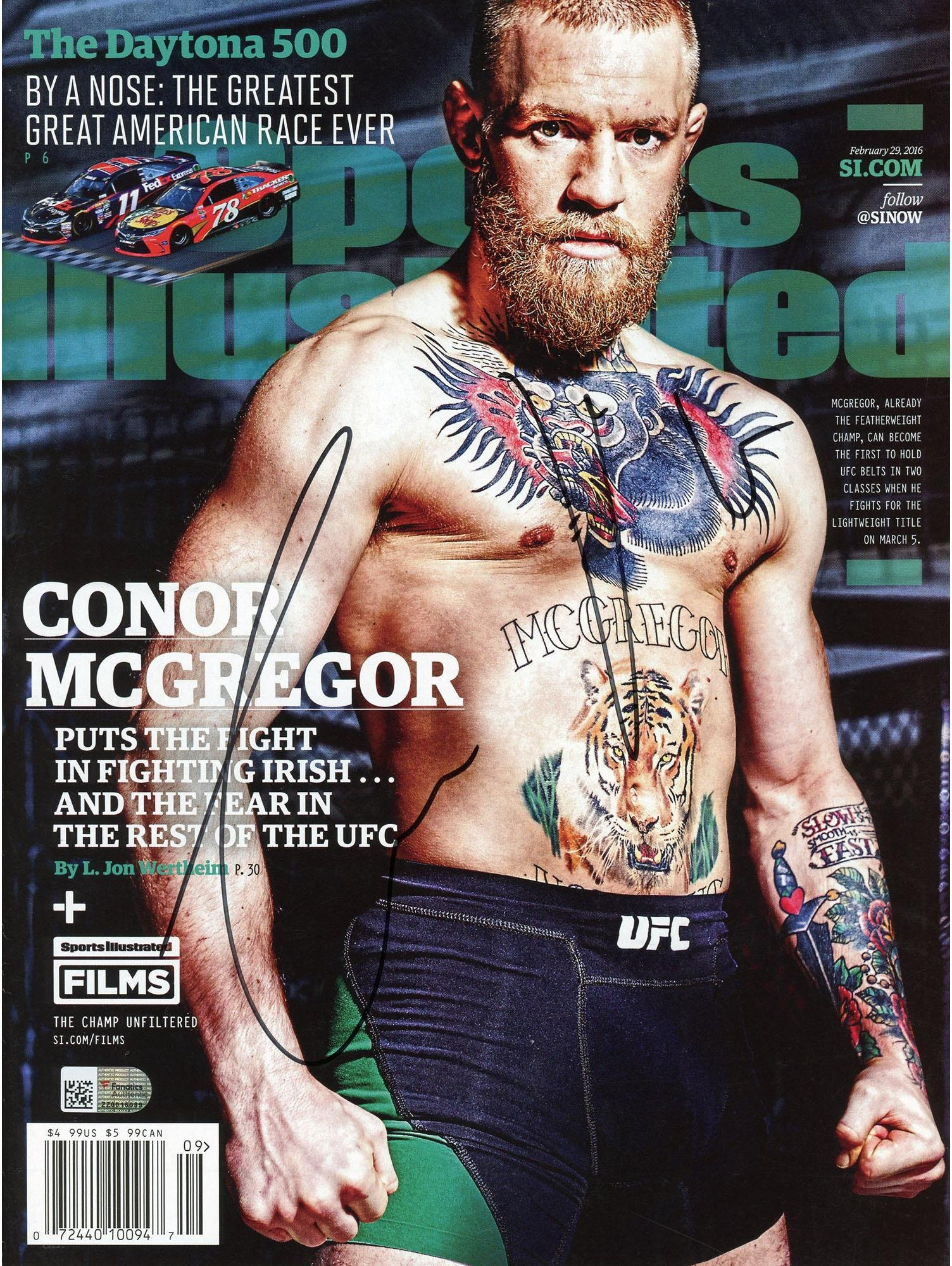 Buy Conor McGregor Ultimate Fighting Championship Autographed UFC ... f054e3dc9