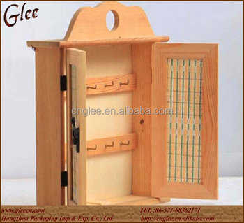 Bon Small Home Decorate Wooden Key Cabinet