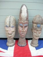 ANTIQUE and VINTAGE AFRICAN MASKS