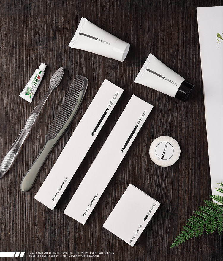 Customized Hotel Disposable Wash Kit Bathroom Amenities