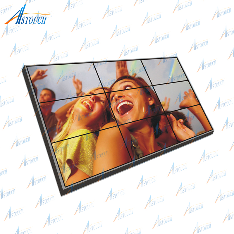 47 inch 3.5mm ultra narrow bezel lcd video wall multi tv screen display