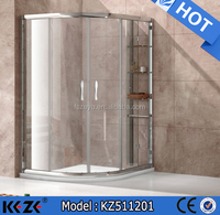 aluminum extrusion profile sliding door/popular large shower room