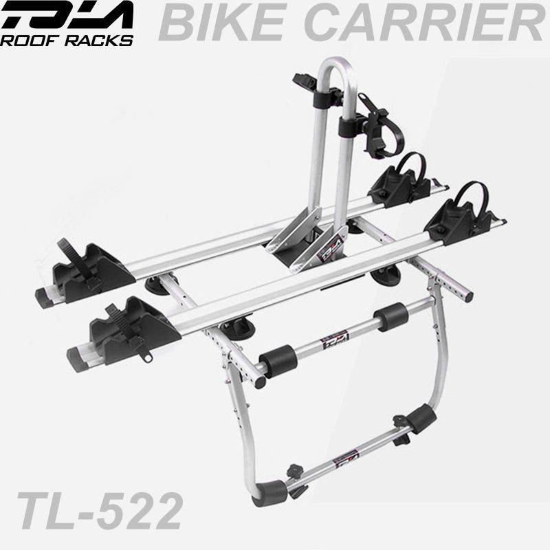 2-Bike Rear Boot Mounted Car Bike Carrier Rack