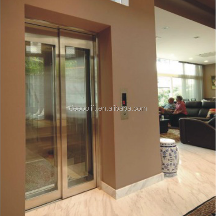 DEAO residential glass lift cheap small elevators for home
