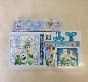 Frozen Stationery Set for kids ruler eraser littler books pen sets