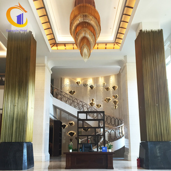 Cheap Precast Indoor Decorative Pillars And Column Cladding Covers ...