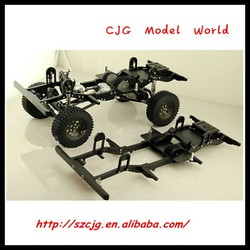 2016 hot sale 1/10 electric rc car kit d90 gelande II chassis