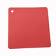 Heat Resistant Square Honeycomb Silicone Trivet Mat