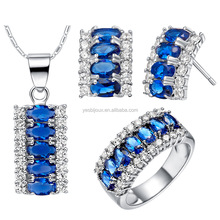 fashion charming crystal moti jewelry set