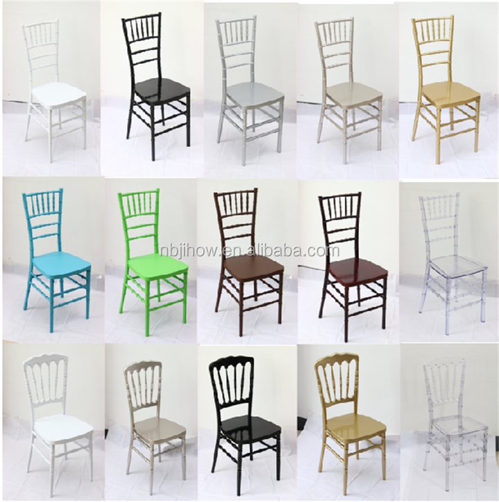 MONOBLOC event wedding plastic resina sillas tiffany chiavari chair