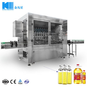 King Machine automatic olive oil bottle filling equipment