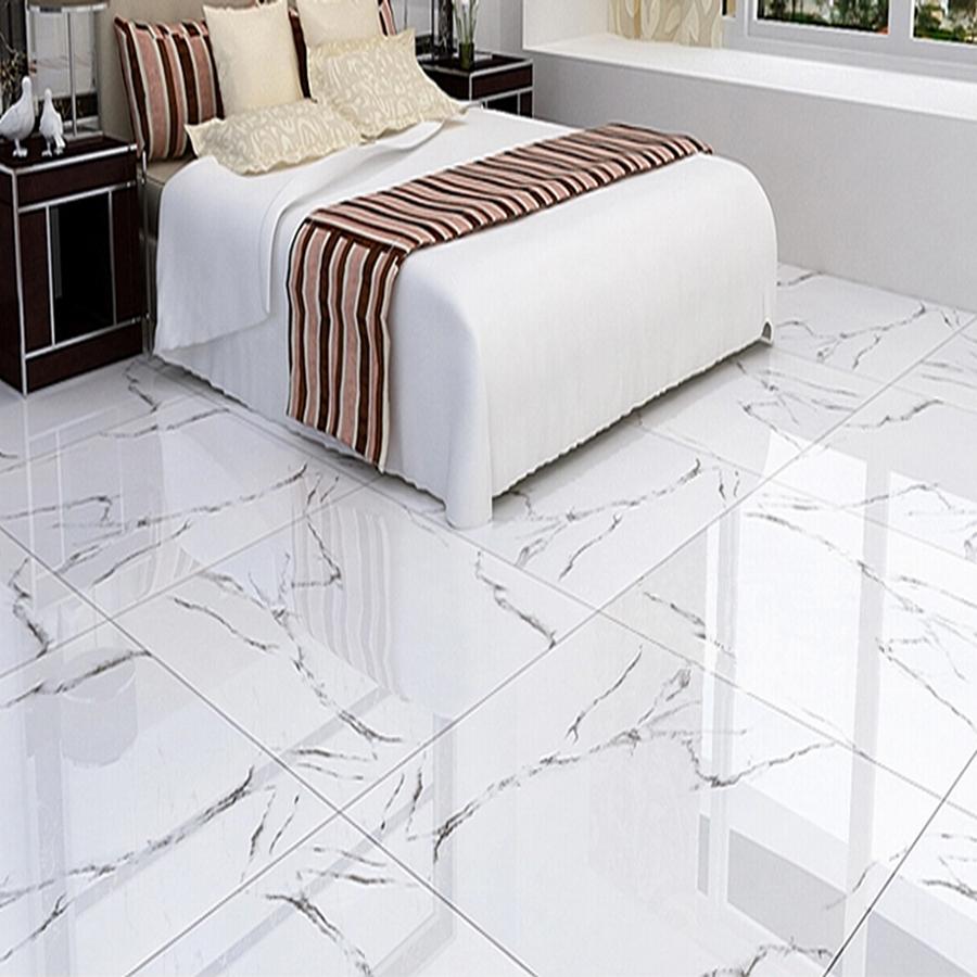 Carrara White Floor Tiles Color