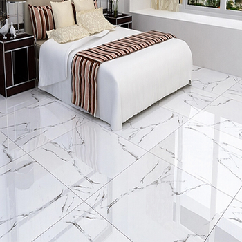 Eiffel Foshan Home Carrara White Floor Tiles Color Full Polished Glazed Porcelain Bedroom Tile