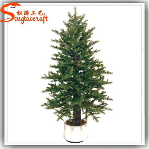 2015 China Artificial Fiber Optic Christmas Tree Decoration Bonsai ...