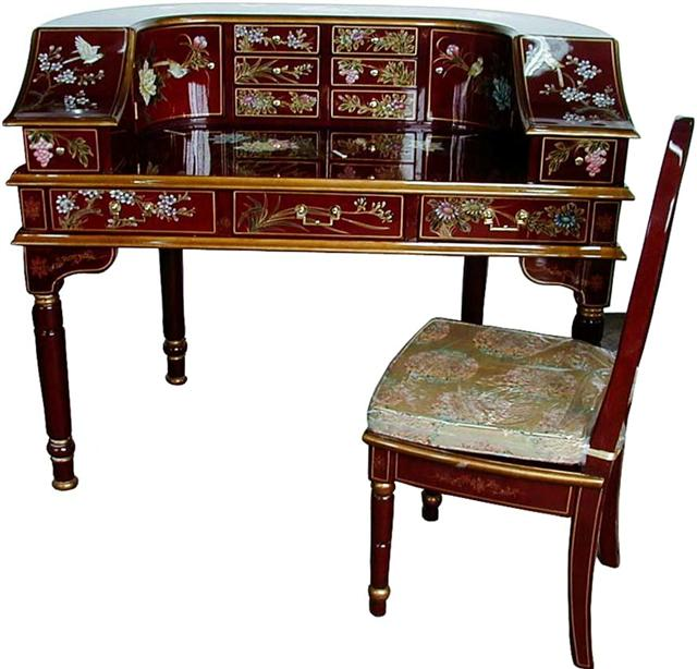 Chinese Style Writing Desk With Chair Office Tables Product