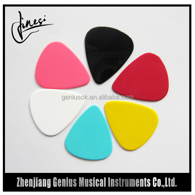 Logo Printing Nonslip Surface Electric Guitar Picks