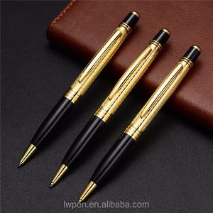 Wholesale Business Gift Best Luxury Gold Pen Kits Slimline