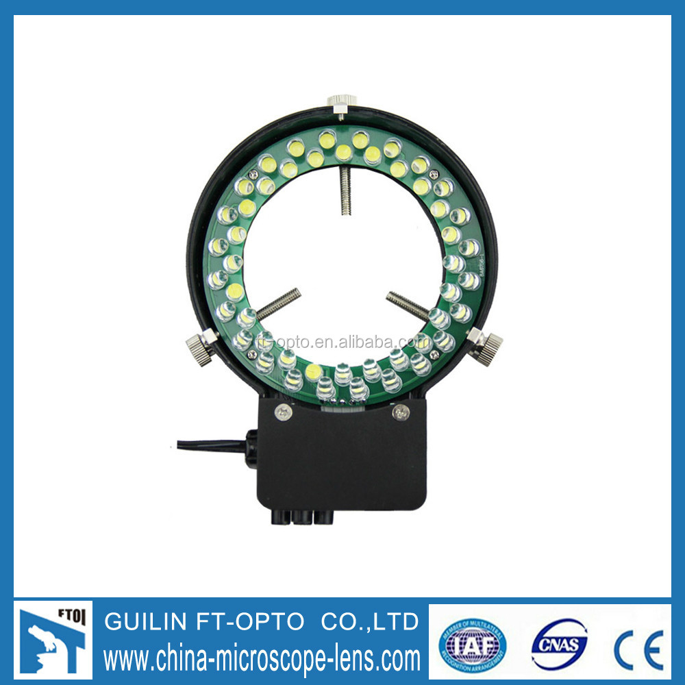 LED Ring Light with 4 Zones Control / Microscope illuminator/ LED Ring Light Source For Microscope