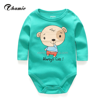02d323cabd09 best salling long sleeve letter alway cute fresh color lovely character  pattern newborn baby boy clothes