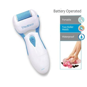 2019 New Arrival Laos India South Africa Electric Battery Operated Callus Remover Foot File In Stock Fast Shipping