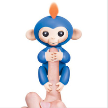 6 Color Fingerlings Interactive Baby Monkeys Smart Colorful Fingers Llings Smart Induction Toys Best Gifts For Kids