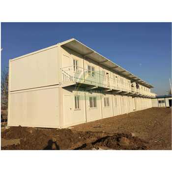 Living Design Prefab Container House With Two Floors Prefab Container House For Staff Accommodation